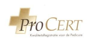 Procert kwaliteitsregistratie voor de pedicure